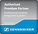 Sennheiser Authorized Premium Partner Logo